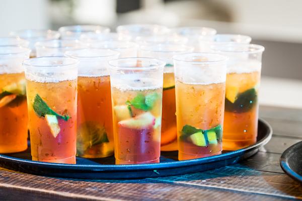 pimms reception drinks